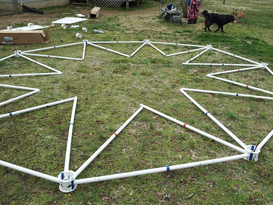 Featured Customer DIY Dome Building & Geodesic Dome PVC - Geodesic Dome Kits made from PVC Pipe