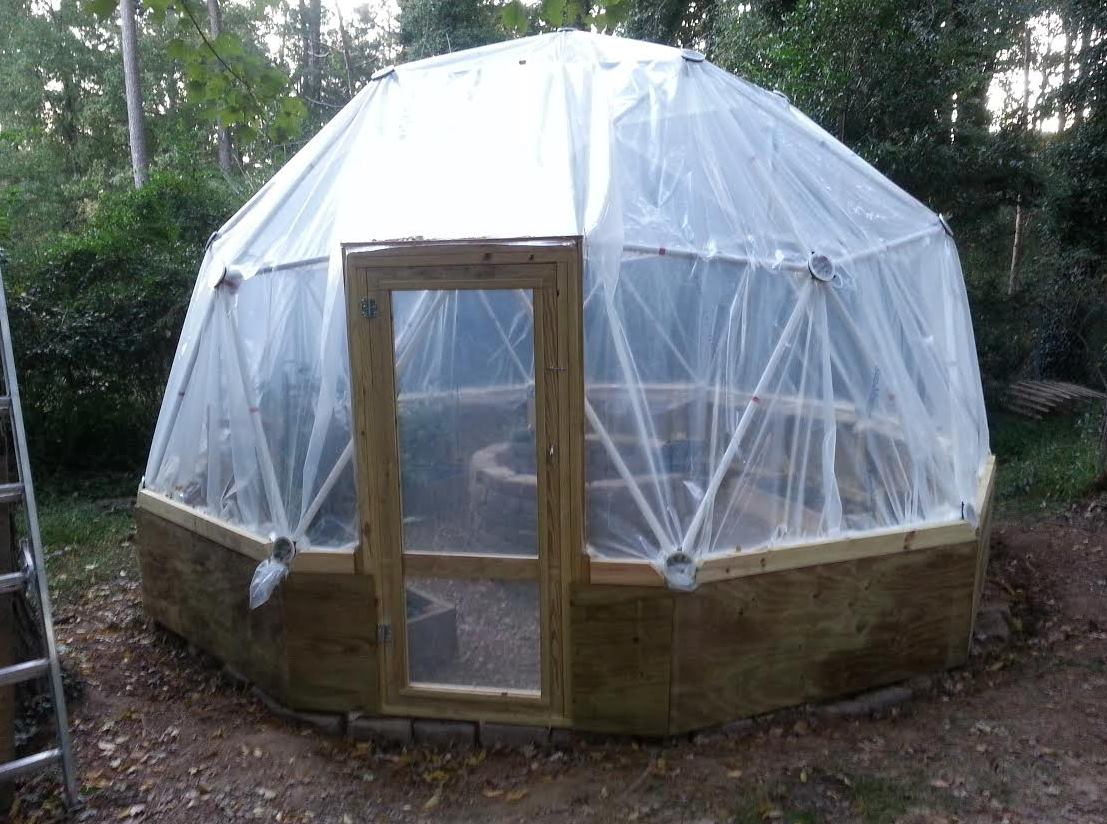 Geodesic Dome Pvc Nathan Byrd Customer Review Of Our